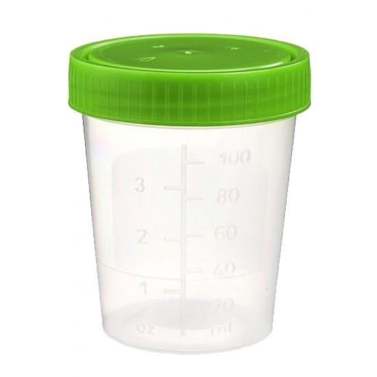 Urinebeker 125 ml (100 stuks)