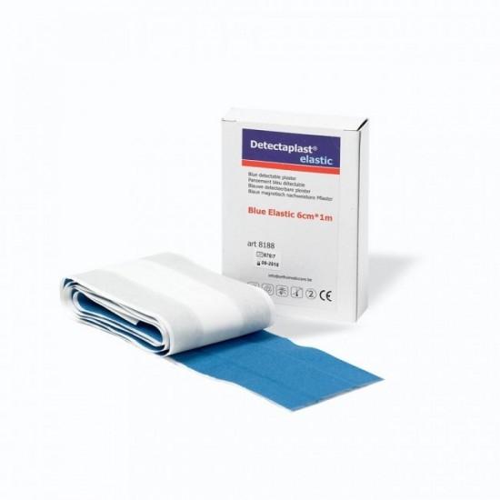 Wondpleister 100 x 6cm Blauw Detecteerbaar HACCP