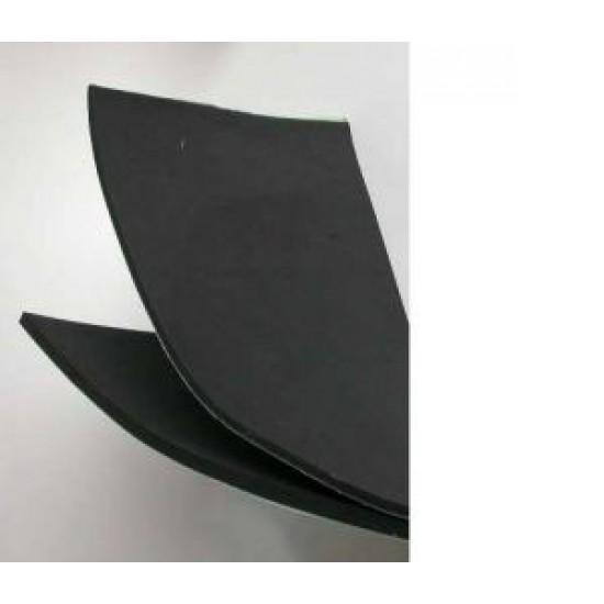 Foam zwart 25 x 50 cm