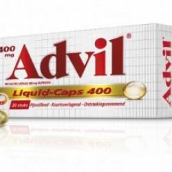 Advil Liquid Caps 400 mg (20 stuks)