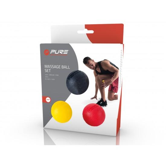 Pure2Improve Massageballen Set 5 cm (3 stuks)