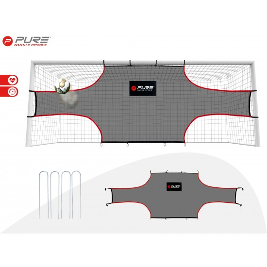 Pure2Improve Target Shot Voetbal