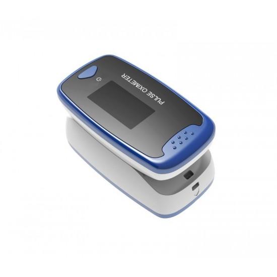 Saturatiemeter Pulse-Oximeter CMS50D2 Compleet