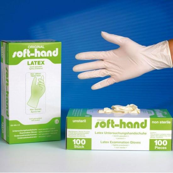 Soft-Hand Latex handschoenen (100st)