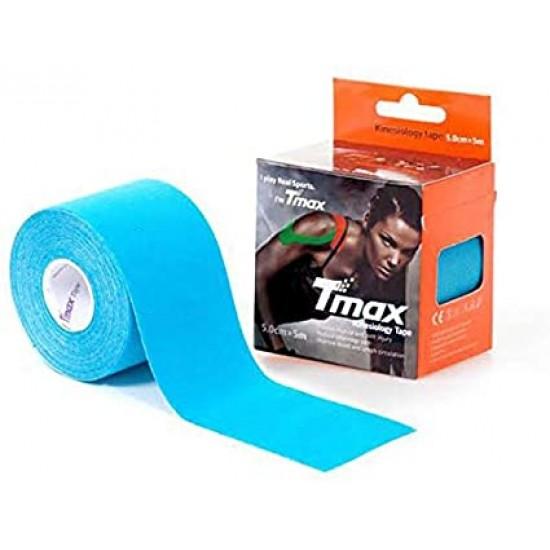 TMax KinesioTape  5cm - Blauw - Magazijnopruiming