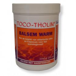 Toco-tholin balsem warm 250 ml