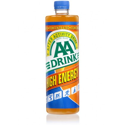 AA Drink Concentrated 0,75 ltr
