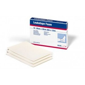 Leukotape foam 4 mm 30x20 cm