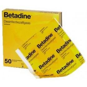Betadine Gaas 10x10 cm