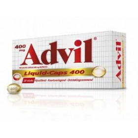 Advil Liquid Caps 400 mg (20 stuks)