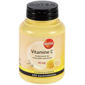 Roter vitamine C Tabletten