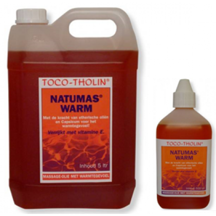 Toco-Tholin Massageolie Natumas Warm