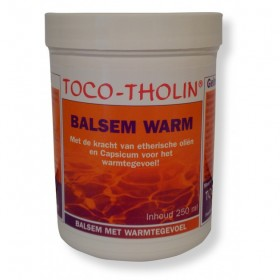 Toco-tholin balsem warm 250 ml