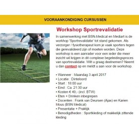 Workshop Sportrevalidatie