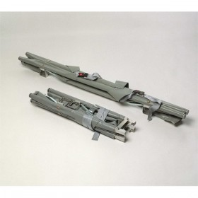 Brancard 2 x samenvouwbaar aluminium