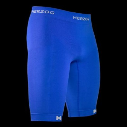 Herzog Sport Compression Shorts Blauw