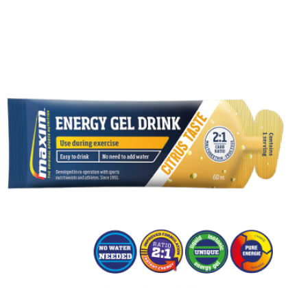 Maxim Energy Gel Drink 60ml (25 stuks)