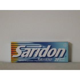 Saridon 20 stuks