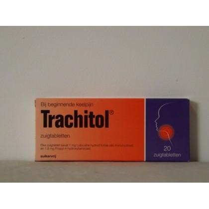 Trachitol tabletten 20 stuks